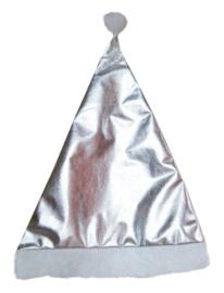 Kerstmuts zilver