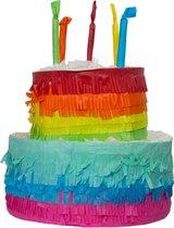 Pinata Taart Rainbow Bday - 25x23cm