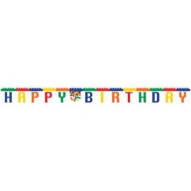 Bricks Letterslinger Happy Birthday