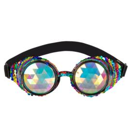 Partybril mirage festival | regenboog