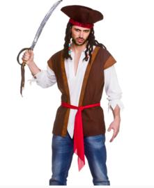Pirate shirt en vest