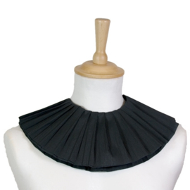 Pieten kraag papier 2 laags zwart