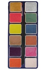 PXP palet 12 metallic Kleuren