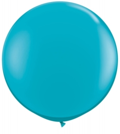 Ballon 90cm Tropical teal qualatex