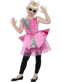 Mini Lady gaga kostuum