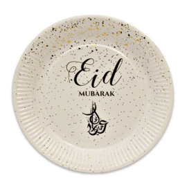 Eid Mubarak Bordjes gold