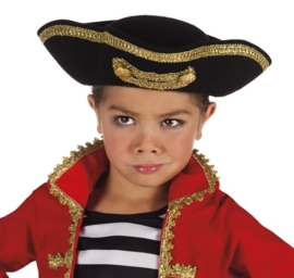 Piratenhoed deluxe kids