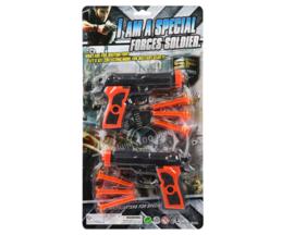 2x Politiewapen met munitie | shooter