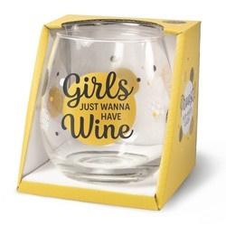 Wijnglas Girls Proost!