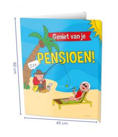 Window signs - Pensioen | Raambord