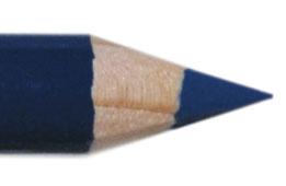 Oogpotlood 11 cm blauw