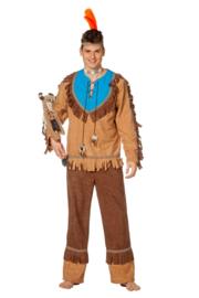 Indianen kostuum luxe