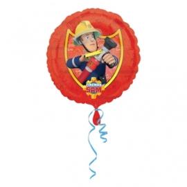 Folieballon Brandweer Sam