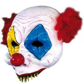 Half Clown masker deluxe