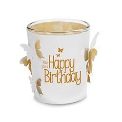 Stralend Lichtje - Happy Birthday | wens