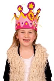 Verjaardags kroon koningin 1 jaar