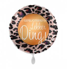 Folieballon Gefeliciteerd Lekker Ding!