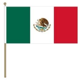 Zwaai vlaggetje Mexico