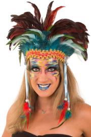 Veren hoofd tooi | Pawnee carnavalstooi