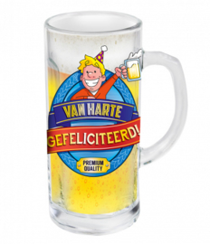 Bierpul - gefeliciteerd | Bier cadeau