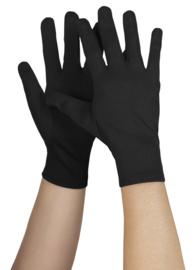 Handschoen kort basic zwart