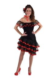 Spaanse jurk deluxe OP=OP