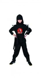 Ninja zwart compleet