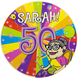 50 Jaar Sarah Led Party Button