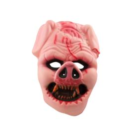 Foam scary varken masker XL