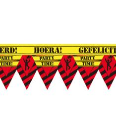 Markeerlint verkeersbord Hoera