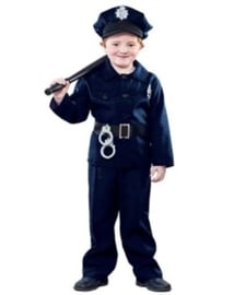Politie agent kostuum