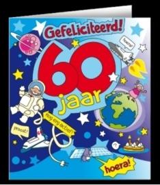 Fun wenskaart 60 jaar