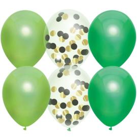 Ballonnenmix Jungle 6 stuks 30cm