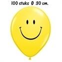 Standaard ballon Smiley