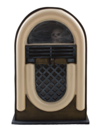 Scary jukebox met licht en geluid