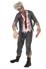 High School Horror Zombie Schoolboy kostuum