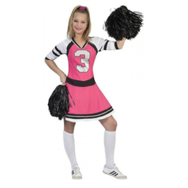 Cheerleader pink lady