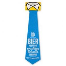Fun stropdas Bier dit prachtige lichaam