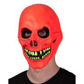 Neon uv skull masker