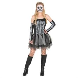 Skelet jurkje tutu