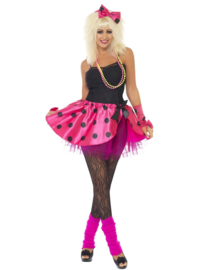80's pink girl set