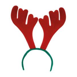 Diadeem rendier | rood groen