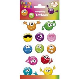 Tattoos Funny Faces