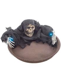Tafelbord skull met licht