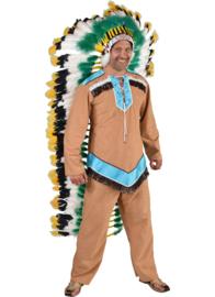 Indiaan kostuum Apache blue | Indianen pak