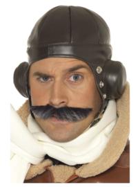 Pilotenpet skai bruin