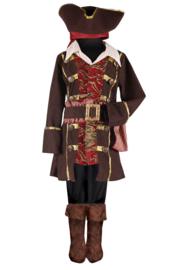 Piraat kostuum jongens Deluxe