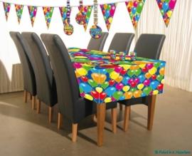 Vrolijke verjaardag tafelkleed