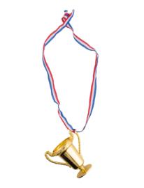 Medailles met beker