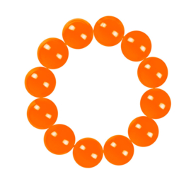 Oranje Armband kraal
